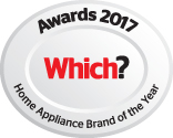 Which? Best Home Appliance Brand 2015, 2016 and 2017
