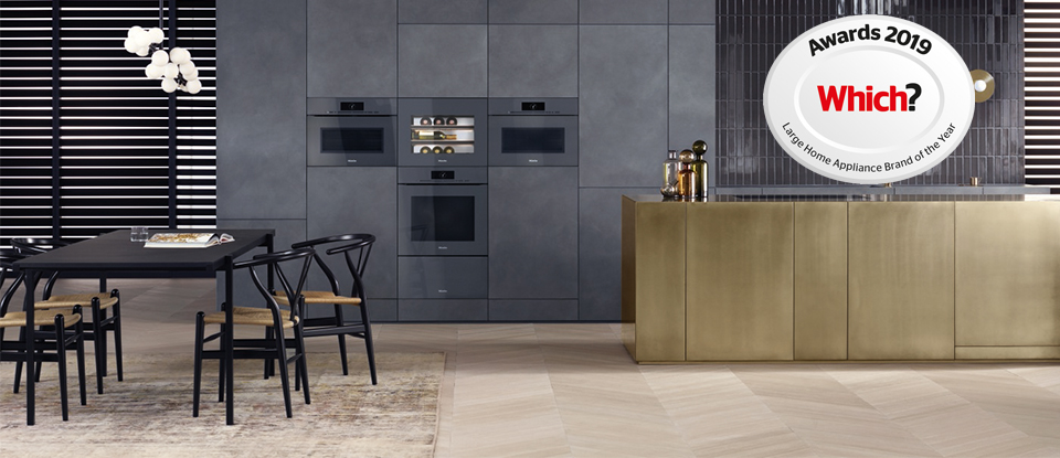 Miele voted Which? Best home appliance Brand 2019 - Miele Great Britain
