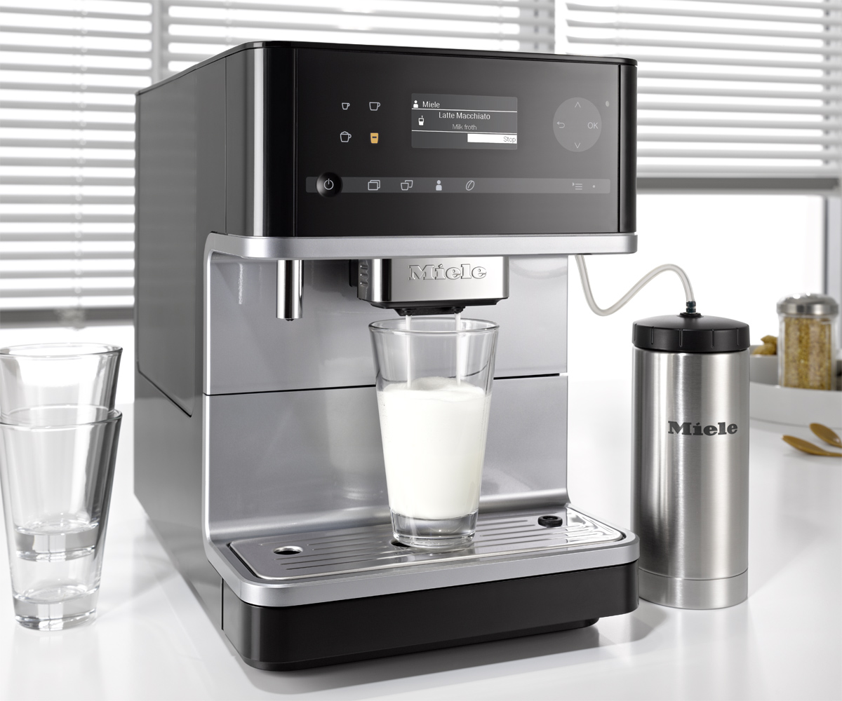 Miele Cm6 Bean To Cup Coffee Machine Miele