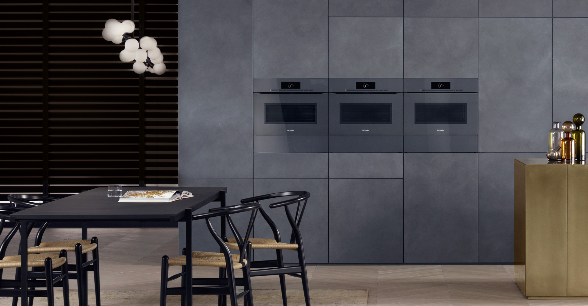 Artline built in appliances with touch2open miele for Küchen miele