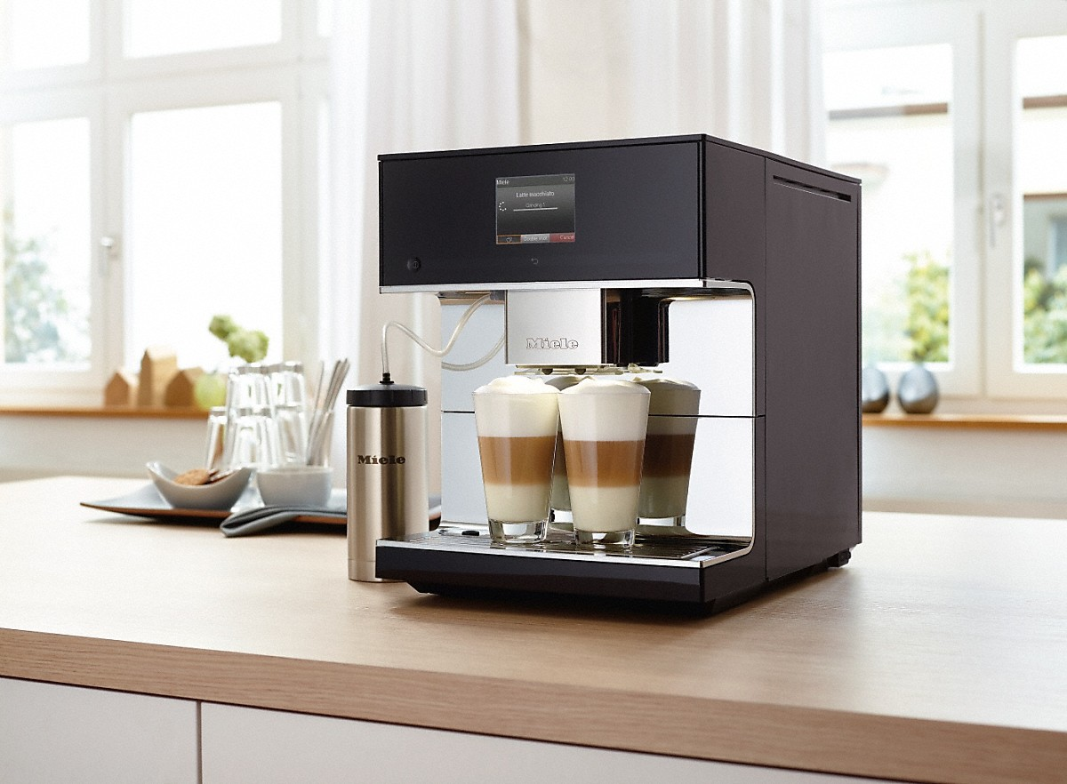 miele cm 7300 countertop coffee machine. Black Bedroom Furniture Sets. Home Design Ideas