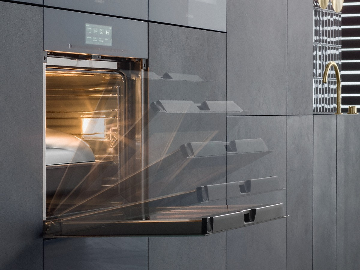 Miele Ovens H 6860 Bpx Handleless Oven To Set The Time New Every For Electric Appliances Supervision As