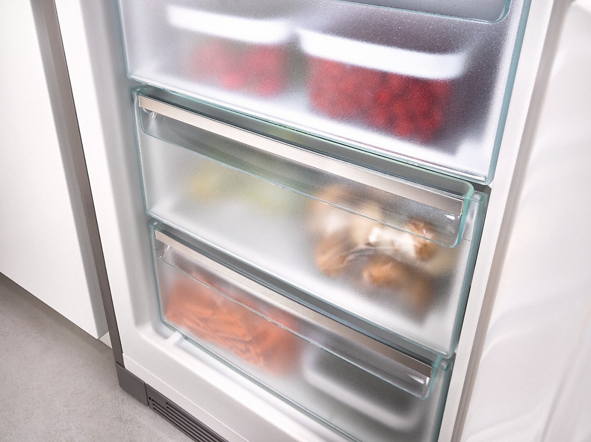 Miele Kfn 29683 D Obsw Xl Freestanding Fridge Freezer