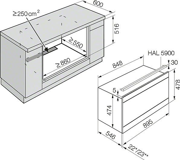 miele oven installation instructions