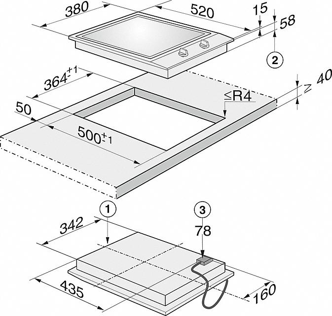 miele hobs and combisets cs 1327 y proline element. Black Bedroom Furniture Sets. Home Design Ideas
