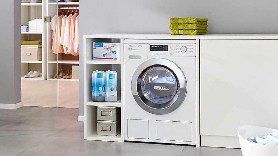 miele 2 in 1 washer dryers for even more convenience miele. Black Bedroom Furniture Sets. Home Design Ideas