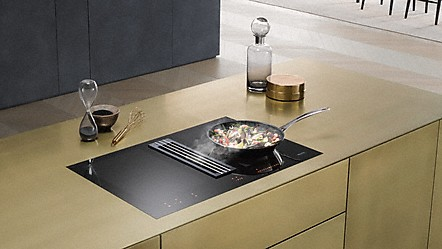 Miele Induction Hobs With Integrated Extractor