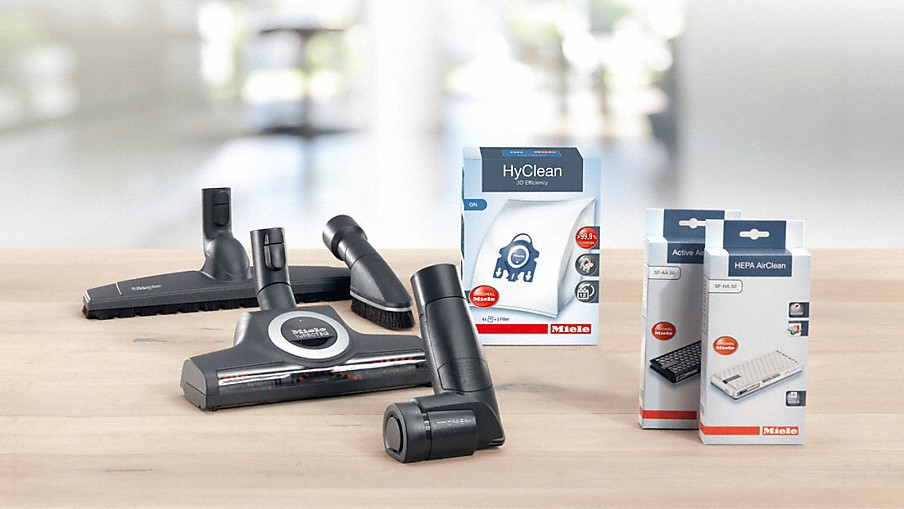 Miele Vacuum cleaner accessories: Even more efficiency w