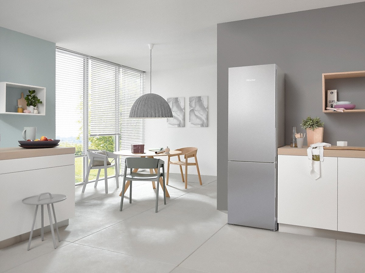 Miele Kfn 28133 D Edt Cs Freestanding Fridge Freezer