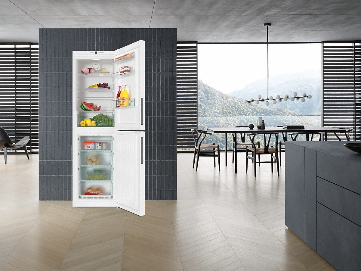 Miele Kfn 29142 Ws Freestanding Fridge Freezer