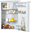 with freezer compartment for intelligent refrigeration in the smallest space.--NO_COLOR