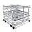 For the optimum loading of 8 mesh trays.--stainless steel exterior