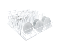 U 507 Lower basket, plastic coated