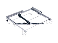 O 885 Upper basket carrier, stainless steel