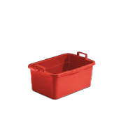 WW 45 R Laundry tub, red