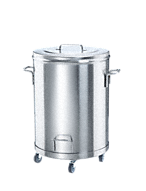AB 60 Stainless steel waste bin