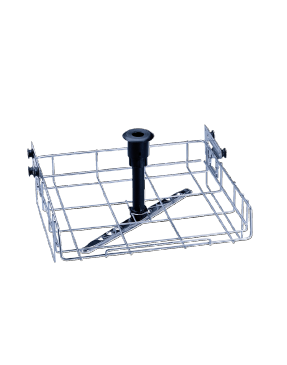 O 190/2 - Upper basket for the optimum loading of different inserts.--stainless steel exterior