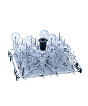 U 175/1 - Lower basket for the optimum loading of narrow necked glassware.--NO_COLOR