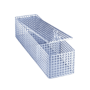 UTS - Utensil box for the ideal cleaning of small parts.--stainless steel exterior
