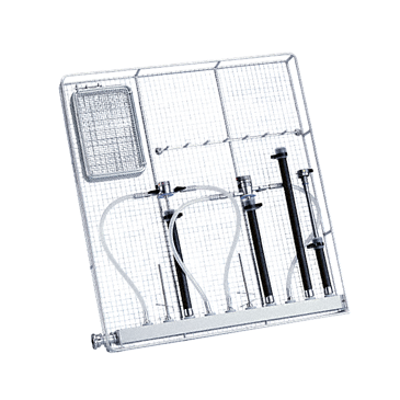 E 903/1 - Module for the optimum loading of TUR sets (transurethral resection).--Stainless steel