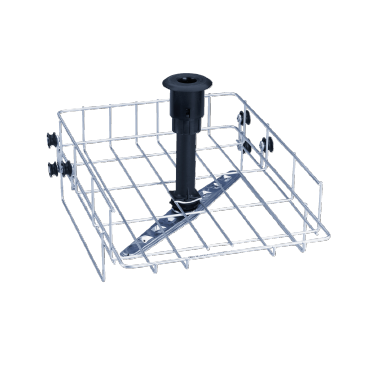 O 800/1 - Upper basket for the optimum loading of different inserts.--stainless steel exterior
