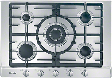 KM 2032 - Gas hob with 5 burners for extremely versatile cooking convenience.--NO_COLOR