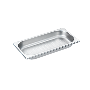 DGGL 1 - Perforated steam cooking containers For blanching or cooking vegetables, fish, meat and potatoes and much more--Stainless steel