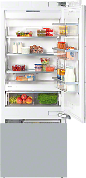 KF 1801 Vi - MasterCool fridge-freezer with large storage space and high-quality features for exacting demands.--NO_COLOR