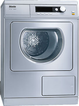 PT 7136 Vario [EL 1N AC 220-230V 50Hz 25A] - Vented dryer, electrically heated with the shortest cycle of 41 minutes for a high throughput of laundry.--Stainless steel