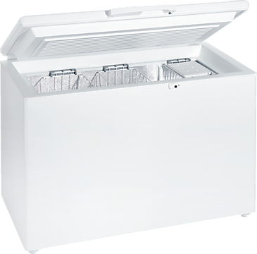 GT 5284 S - Chest freezer with Frost free system and suspended baskets for increased convenience.--NO_COLOR