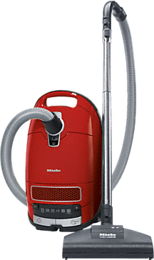 Complete C3 Cat&Dog PowerLine - SGEE1 - Cylinder vacuum cleaner With turbobrush and odour filter; ideal for pet lovers.--Mango red