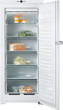 FN 24062 ws - Freestanding freezer with Frost free and EasyOpen lever handle for added convenience.--