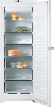 FN 26062 ws - Freestanding freezer with EasyOpen lever handle and Frost free for added convenience.--