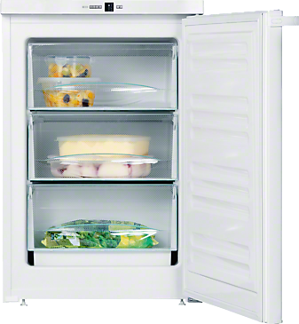 F 12011 S-1 - Freestanding freezer For increased versatility thanks to three freezer drawers and VarioRoom.--