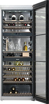 KWT 6834 SGS - Freestanding wine conditioning unit FlexiFrame and SommelierSet for the perfect enjoyment of your wine.--NO_COLOR