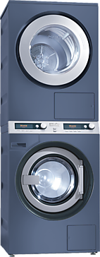 PWT 6089 + PT 7189 set - Washer-dryer stack for washing and drying in the smallest space, model with drain pump--Octoblue