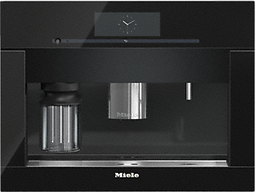 CVA 6805 - Built-in coffee machine with bean-to-cup system - the Miele all-rounder for the highest demands.--Obsidian black
