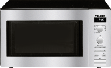 M 6012 SC - Freestanding microwave oven with automatic programmes and grill function at an attractive entry level price.--Stainless steel