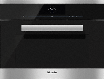 DGC 6805 - XL steam combination oven with fully-fledged oven function - the Miele all-rounder with mains water connection for discerning cooks.--Stainless steel/CleanSteel
