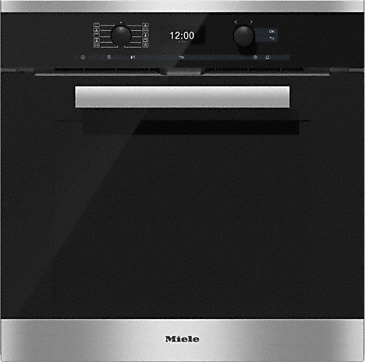 H 6460 BP - Oven with Moisture Plus and automatic programmes for perfect cooking results.--Stainless steel/CleanSteel