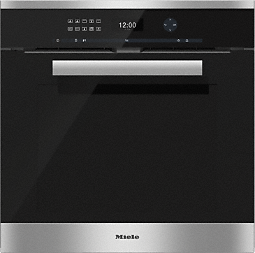 H 6461 BP - Oven with intuitive touch operation and Moisture Plus for perfect results.--Stainless steel/CleanSteel