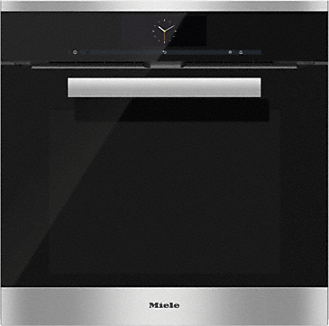 H 6860 BP - Oven - the multi-talented expert from Miele.--Stainless steel/CleanSteel