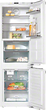 KFN 37692 iDE - Built-in fridge-freezer combination For that special look in the kitchen thanks to Perfect fresh Pro and FlexiLight.--