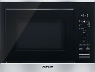 M 6022 SC - Built-in microwave oven with automatic programmes and grill function for excellent results.--Stainless steel/CleanSteel