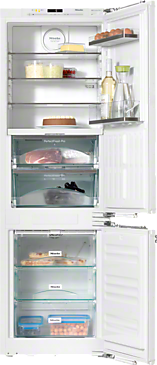 KFN 37682 iD - Built-in fridge-freezer combination High-quality storage thanks to Perfect fresh Pro, FlexiLight and Frost free.--