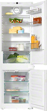 KDN 37132 iD - Built-in fridge-freezer combination versatile storage conditions thanks to LED lighting, Frost free and VarioRoom.--