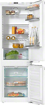 KFN 37432 iD - Built-in fridge-freezer combination with more convenience for fridge & freezer with FlexiLight & Frost free--