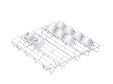 E 809 - Lower basket insert, plastic coated For the optimum loading of cups.--NO_COLOR