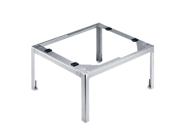UO 30-60/80 - Plinth, open For the ergonomic loading and unloading of a dishwasher - height 30 cm.--stainless steel exterior