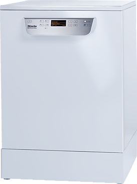 PG 8059 [MK HYGIENE 1N AC 230V 50Hz 30-32A 5,9kW] - Fresh-water dishwasher With baskets, for all locations with high hygiene requirements.--white casing